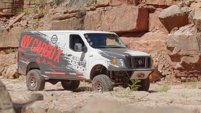 Photo of NV Cargo X project vehicle courtesy of Nissan.