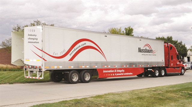 Nussbaum Transportation Services has been a leader in adopting fuel-saving technologies such as 6x2 drive axle configurations, as well as a custom driver scorecard program to motivate fuel-efficient driving.