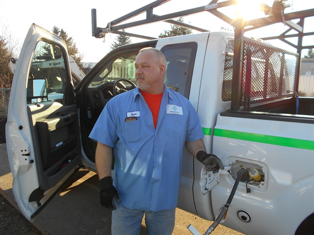 Photo courtesy of NW Natural.NW Natural will test new CNG tank technology from EnerG2 to see whether it's viable in real-world scenarios, particularly for fleet applications.