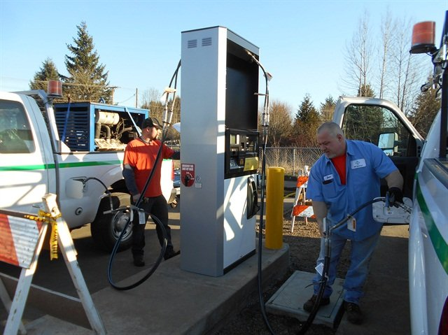 Photo courtesy of NW Natural.Pending more tests, an adsorbed natural gas storage system is likely to significantly increase the amount of CNG on board a vehicle.