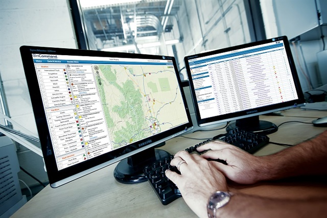 Predictive analytics can help keep trucks on the road. Navistar has been piloting a new OnCommand Connection feature called Live Action Plans, which predicts when a part is going to fail before it does. Photo: Navistar