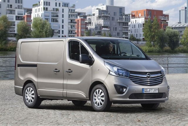 Photo of the Opel Vivaro courtesy of Opel.