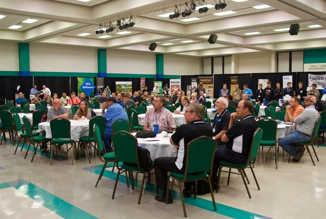 The two-day event brought together 260 fleet professionals from 21 states. Photo courtesy of OPFMA