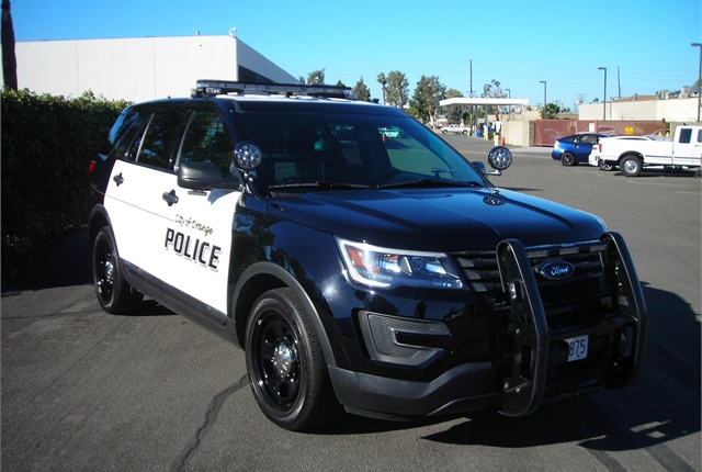 The City of Orange (Calif.) communicates with its upfitting vendor about deliveries to make sure the company has all the parts available when new police cars arrive. Photo courtesy of City of Orange