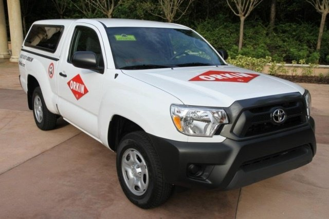 Orkin operates a fleet of approximately 10,000 vehicles. The main vehicle used by service technicians is the Toyota Tacoma for residential and business pest control services.  (Photo: Orkin)