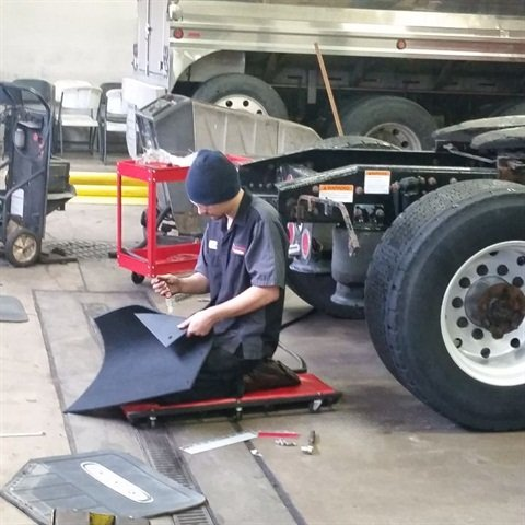 Make sure the shop you choose has the tooling, training and technology to handle your maintenance and repairs.  Photo: Joe Laux