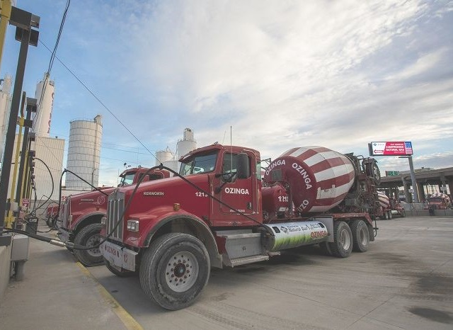 Ozinga partnered with South Shore Clean Cities to receive grant funding to help with the conversion of diesel-powered ready mix concrete trucks serving the Gary, Indiana, area.