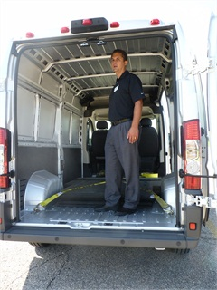 Tall people like the ProMaster.