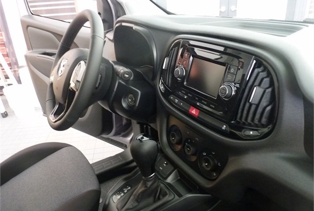 The interior of the ProMaster City.