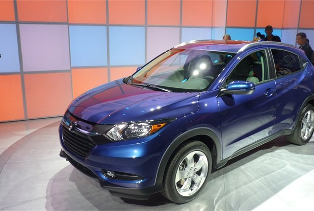 The Honda HR-V is Honda's foray into the compact crossover arena.