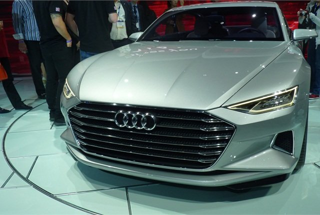 The Audi Prologue concept revealed Audi's new design language for its A6, A7 and A8 models.