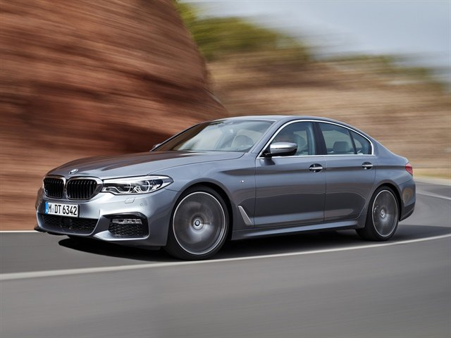 BMW 5 Series sedan M Sport, photos courtesy of BMW