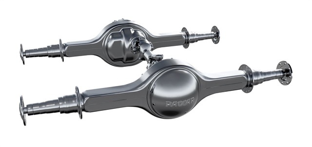 Paccar says its new drive axle is the lightest in its class.