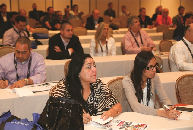 Concurrent sessions featured topics covering rental fleet liability, managing negative online reviews, growing international business, handling legal claims and valuing your business for sale. Photo by Steve Reed.