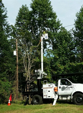 ROUSH and Asplundh also worked with Altec Industries on ensuring proper aerial lift installation and operation.
