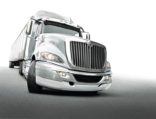 International: ProStar is losing its Plus suffix, but remains International's principal aero-style highway model with daycab and several sleeper versions. It's offered with Navistar MaxxForce 13 and Cummins ISX15 diesels, both with Cummins-sourced selective catalytic reduction equipment. The traditionally styled 9900i and retro-fashion LoneStar come only with the ISX15.