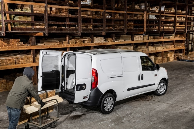 Euro-style vans, like the Ram ProMaster City, offer more cargo room than box-style vans and are more easily configurable for a variety of upfitting options. (Photo courtesy of FCA US)