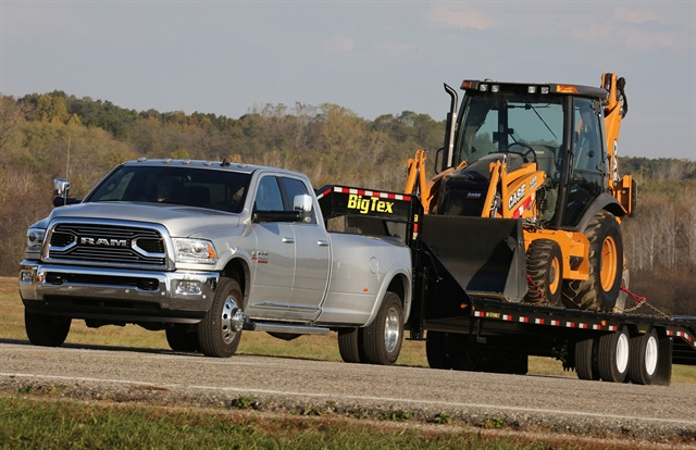 For the 2018-MY, Ram offers the 1500 in 11 models; 2500 and 3500 3/4- and 1-ton trucks with up to 930 lb.-ft. of torque; as well as 3500, 4500, and 5500 Chassis Cab trucks. (Photo: FCA US)