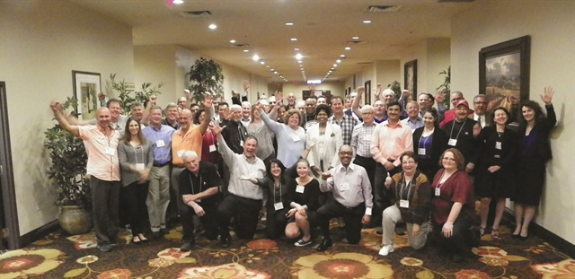 The International Franchise Systems corporate team gathers annually with Rent-A-Wreck and Priceless franchisees for their convention in Las Vegas.