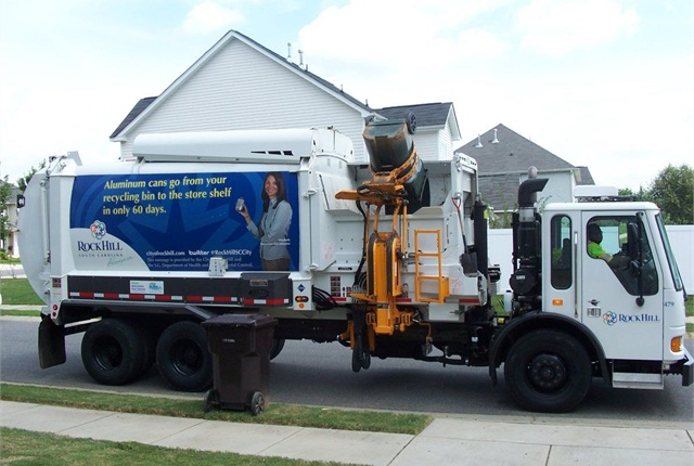 Rock Hill currently has two CNG refuse trucks.