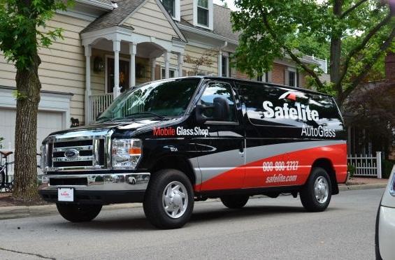The Safelite AutoGlass fleet operates nationwide to repair or replace vehicle windshields.(PHOTO: Safelite AutoGlass)
