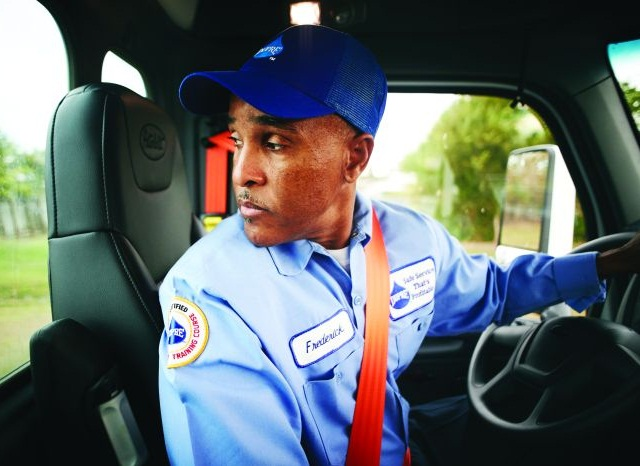 Technology abounds, from EDLs to telematics to in-cab video analysis, to help fleets not only monitor drivers for safe operation, but provide customized remedial training as needed to individuals. Photo: Dupré