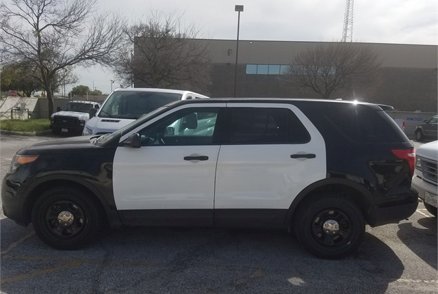 When it comes time to decommission patrol cars, there's more work to be done than just turning the vehicles over to the auctioneer. Photo courtesy of City of San Antonio