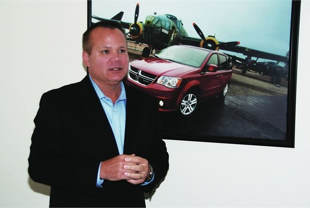 """Jim Sassorossi is very bullish about Chrysler's long-term outlook for the commercial fleet market. """"Knowing our product pipeline, I'm confident we will be able to compete on the product side. As you know, our competition is very tough and we need to push for new frontiers on delivering hassle-free levels of service for our customers,"""" he said."""