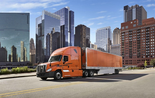 Schneider, a long-term tester of efficient equipment, today buys automated transmissions, trailer skirts and automatic tire inflators.