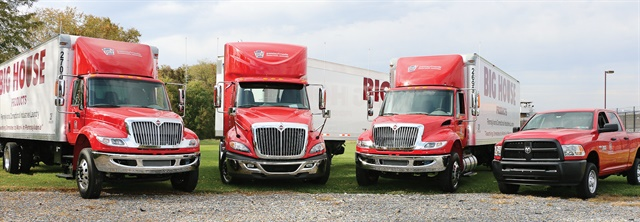 Pennsylvania Correctional Industries' fleet is responsible for transporting goods between the state's correctional facilities and requires specialized equipment. Photo courtesy of PCI