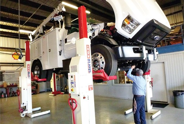 At the City of La Verne, Calif., three mechanics are responsible for maintaining 160 pieces of equipment. Photo courtesy of City of La Verne