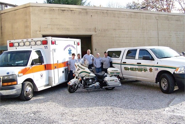 The Anderson County, Tenn., fleet manages 255 units on a small budget, and funding for new vehicles can be difficult to secure. Photo courtesy of Anderson County