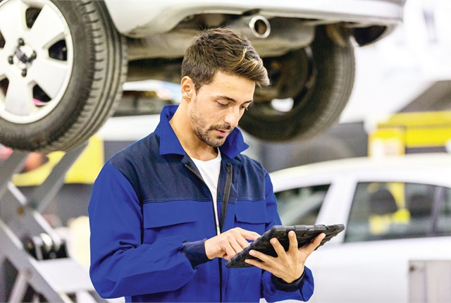 Upgrading to a new fleet maintenance software system involves training technicians on how to input data into the system. Photo: istockphoto.com