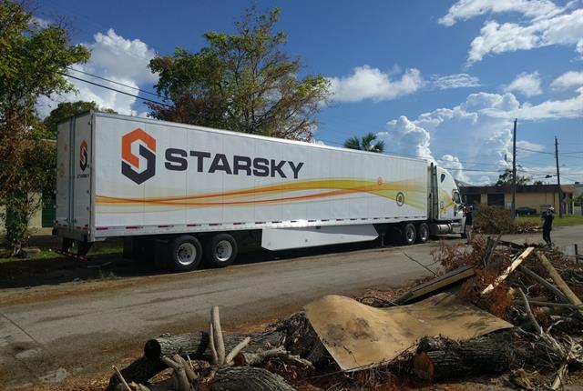 Starsky Robotics says the time for fully-autonomous trucks hauling freight has arrived. Photo: Starsky Robotics