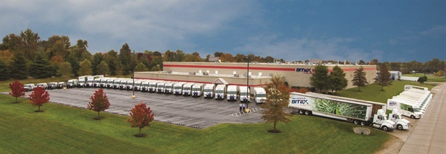 Henderson, Ky.-based Sitex Corp., a uniform and linen services provider, runs its medium-duty fleet to 150,000 miles over a five-year term and then replaces vehicles with another lease. Photo courtesy of Sitex Corp.