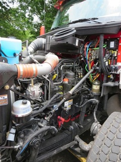 Like other modern diesels of its size, the 12.9-liter MX-13 makes healthy power and torque.