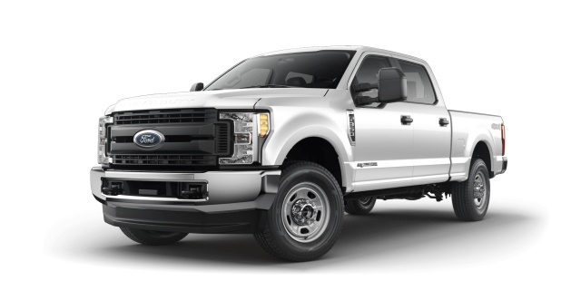 Electric, gas and sanitation: Ford F-350 Super Duty 4x4 Crew Cab XL (Photo courtesy of Ford Motor Co.)