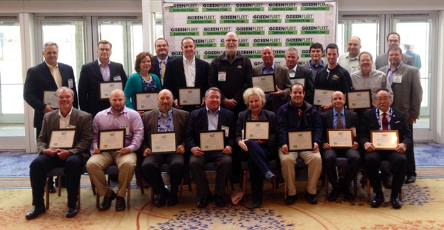 The Top 50 Green Fleet honorees who received their awards at the Green Fleet Conference.