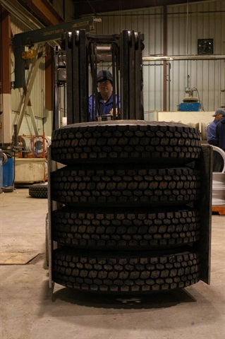 Consider the cost of the time and effort that goes into tracking and managing tires. Ask yourself how many tires could be purchased with that money. Photo: Jim Park