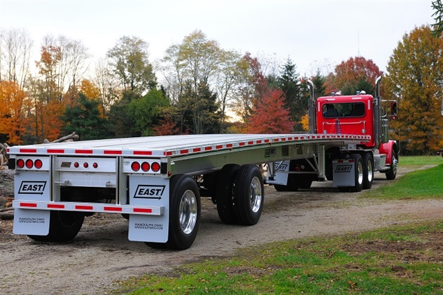 New composite materials show great promise in lightening trailer designs. But their use must be tempered by cost and maintenance concerns. Photo: East Manufacturing