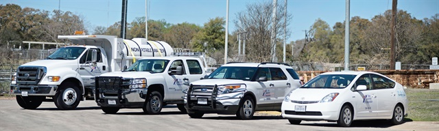 In the past few years, the Texas DOT has restructured its fleet management program, right-sized inventory to about 12,500 vehicles, and launched programs for continuous improvement.Photo courtesy of Texas DOT