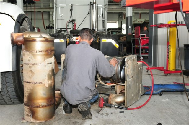 Proactive emissions system service can prevent costly breakdowns, especially when routinely performed during PM checks.