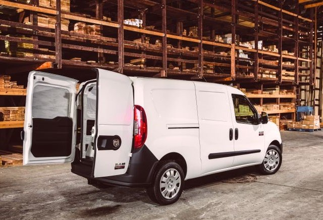 Photo of Ram ProMaster City courtesy of FCA US.