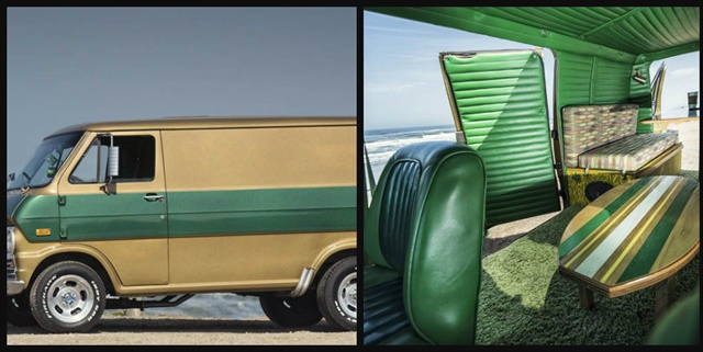 Bandago's new customized vintage vans offer a '70s feel with styling from yesteryear. Photos courtesy of Bandago.