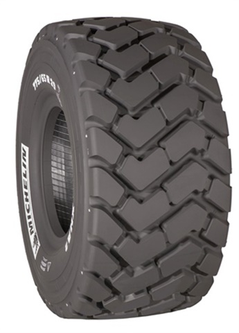 Michelin offers two sizes of the XHA 2 for small- and medium-wheel loaders. (Photo: Michelin)