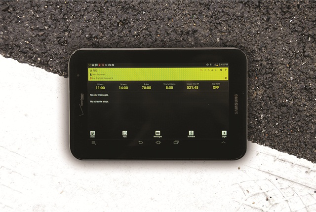 Verizon was named the official wireless provider for the XRS collaboration with Samsung Mobile to offer a new product that includes a Samsung Galaxy Tab 2 7-inch tablet and a subscription to XRS's fleet management software.