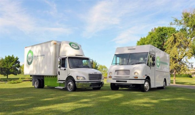 California's Air Resources Board says zero-emissions technology is already available for delivery vehicles such as package vans and medium-duty trucks. Photo: First Priority GreenFleet/EVI