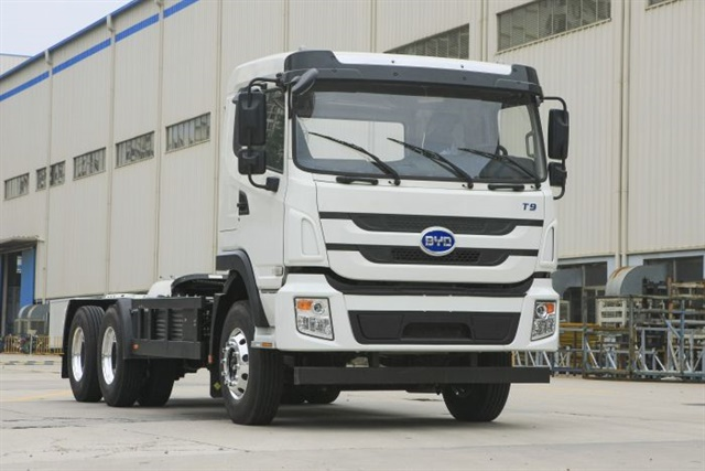 CARB wants to deploy more than 100,000 freight vehicles and pieces of equipment capable of zero emission operation. Photo: BYD Motors