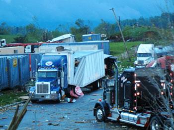 Philip Berry, Mystic Transportation, shot this photo at a Virginia truckstop.