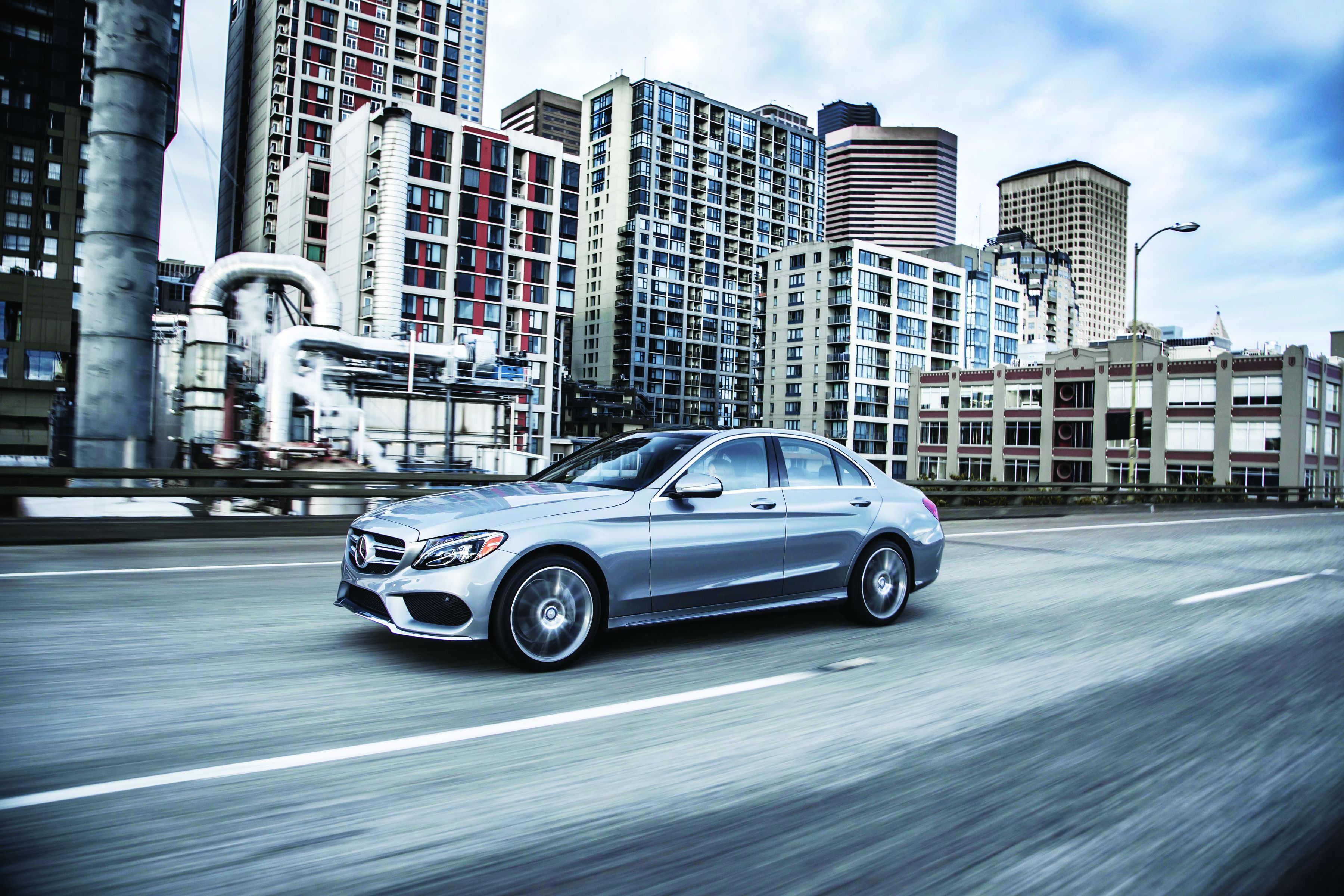 Mercedes-Benz Debuts All New 2015 C-Class Models